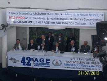 42º AGE SÃO JOSÉ DOS CAMPOS