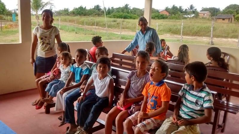 Visitas a igrejas no norte do pais 32