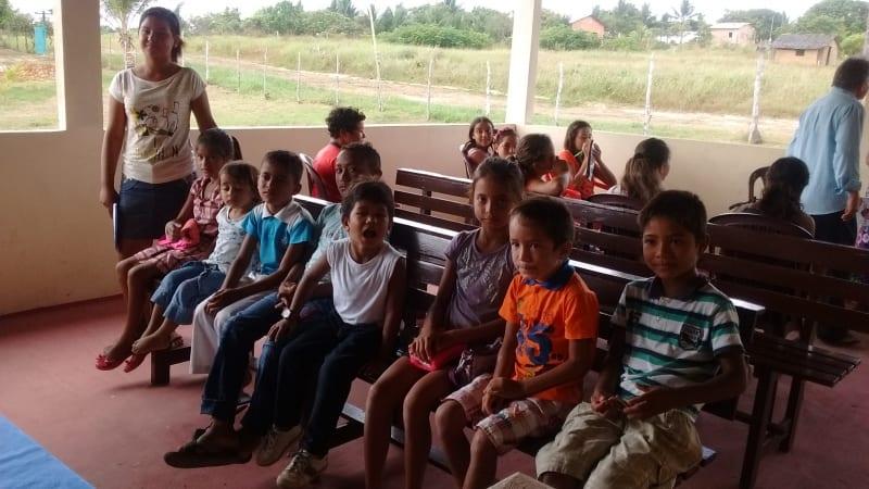 Visitas a igrejas no norte do pais 33