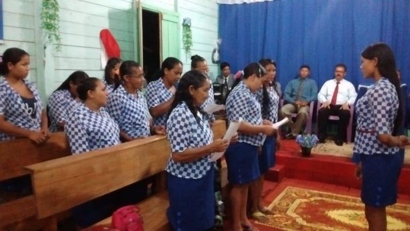 Visitas a igrejas no norte do pais 72
