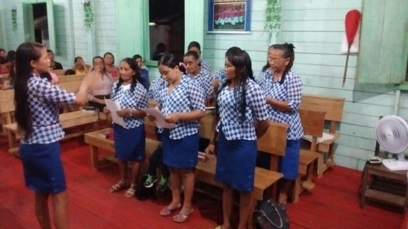 Visitas a igrejas no norte do pais 74