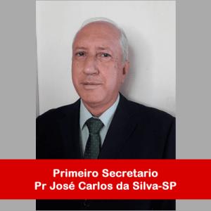 09. Primeiro Secretario - Pr José Carlos da Silva-SP