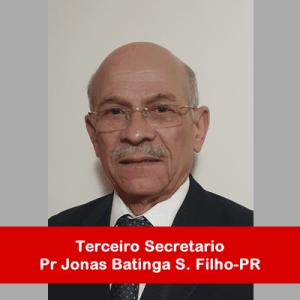 11. Terceiro Secretario - Pr Jonas Batinga Filho