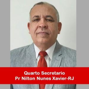 12. Quarto Secretario - Pr Nilton Nunes Xavier-RJ