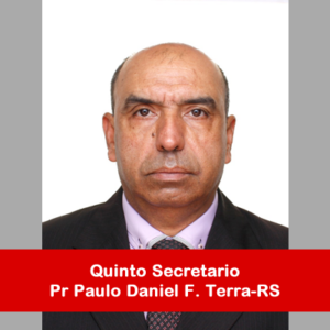 13. Quinto Secretario - Pr Paulo Daniel Terra-RS
