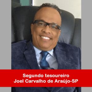 17. Segundo tesoureiro - Joel Carvalho de Araújo-SP